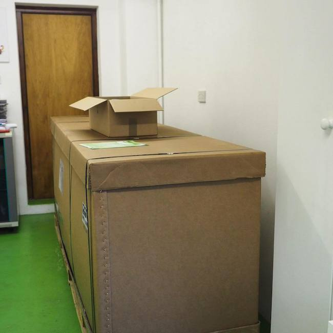 New Printer Arrives