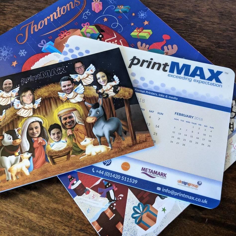 PrintMax Advent calendar