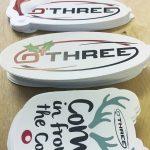 O'Three Christmas Stickers