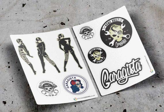 garagistas-sticker-set