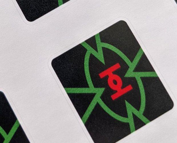 Starwars pinball machine stickers